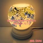 Den xong huong hoa ngau xanh dang tron D246_3