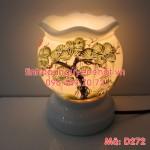 Den xong tinh dau hoa tiet cay bach tung luon song D272-1